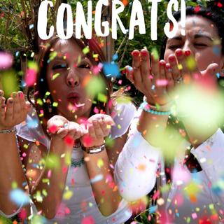 Congrats blog pic